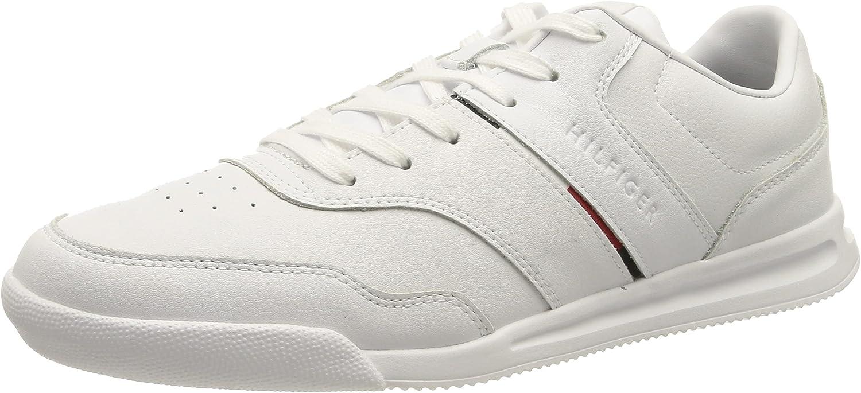 Tommy Hilfiger Lightweight Sneaker Lea Stripe, Zapatillas Hombre