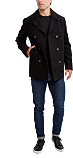Nautica Men's Classic Double Breasted Peacoat