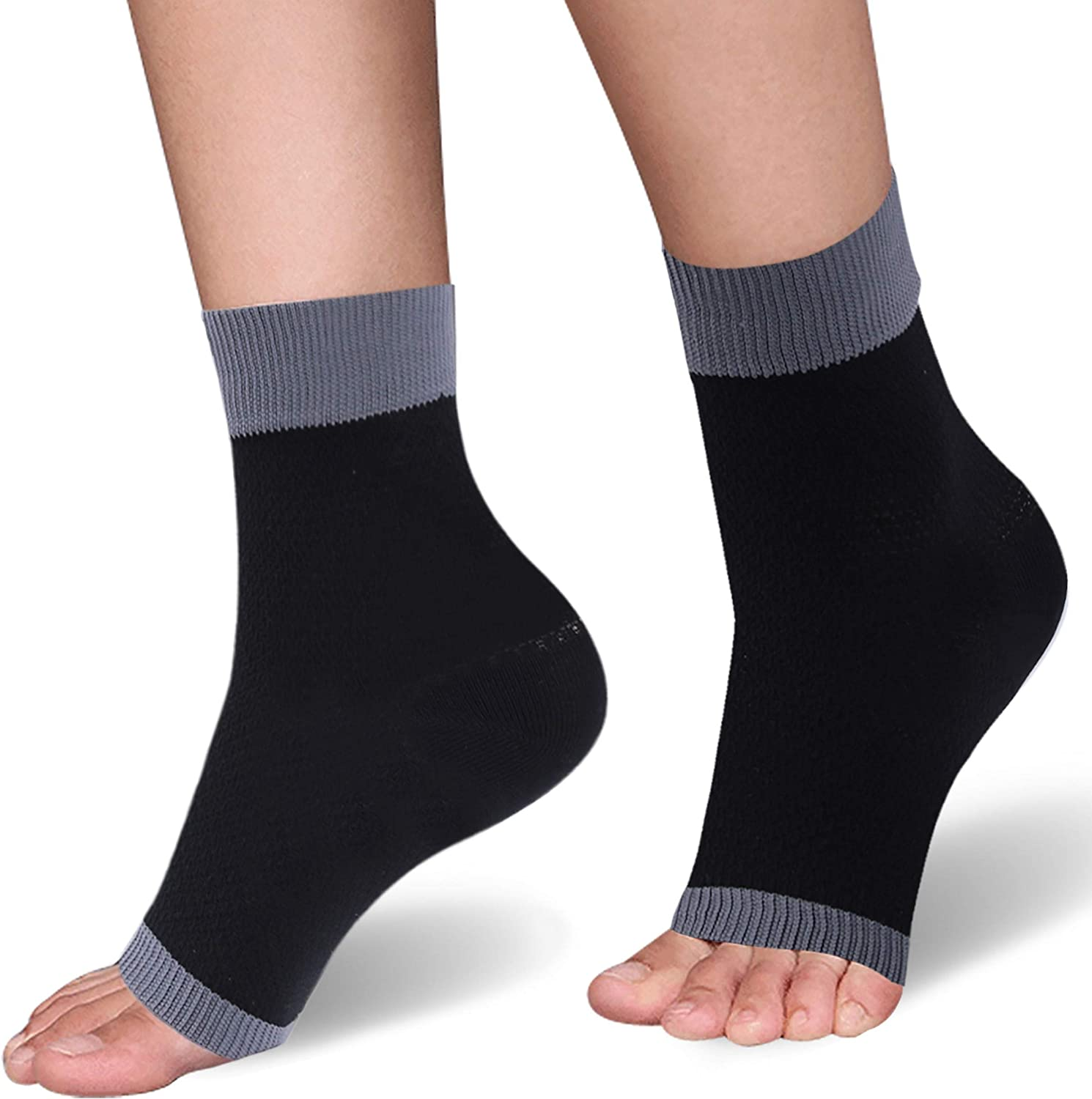SuMade Womens Girls Running Walk Cycling Jacksonville Mall Foot Sleeve Compression Max 46% OFF