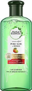 Herbal Essences Shampoo Senza Solfati Con Puro Aloe + Mango, In Collaborazione Con I Giardini Botanici Reali Di Kew, 225ml