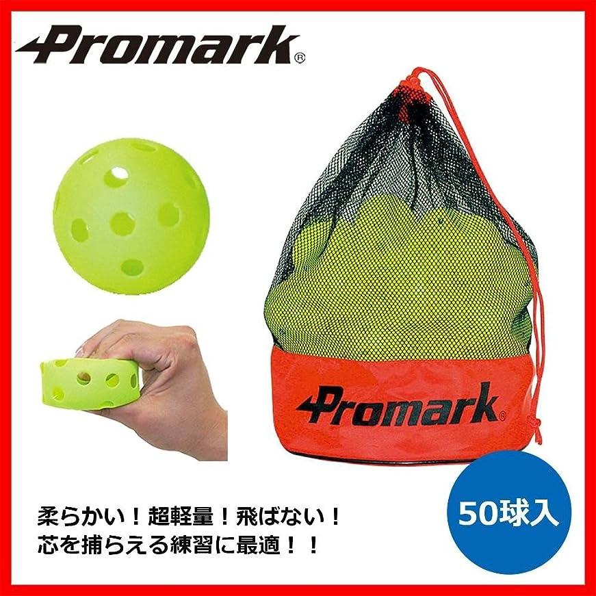 役員サンダルギネスPromark プロマーク バッティングトレーナー練習球 50球入 HTB-50
