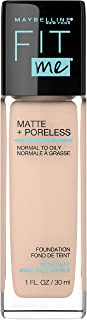 Maybelline Fit Me Matte and Poreless Mattifying Liquid Foundation - Classic Ivory 120,30ml