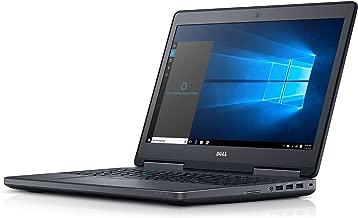 NEW DELL PRECISION M7510 I7 6920HQ 3.8GHZ QUADRO M1000M 2GB 16GB 2133MHZ FHD 1080P 256GB SSD NT0132 (Renewed)