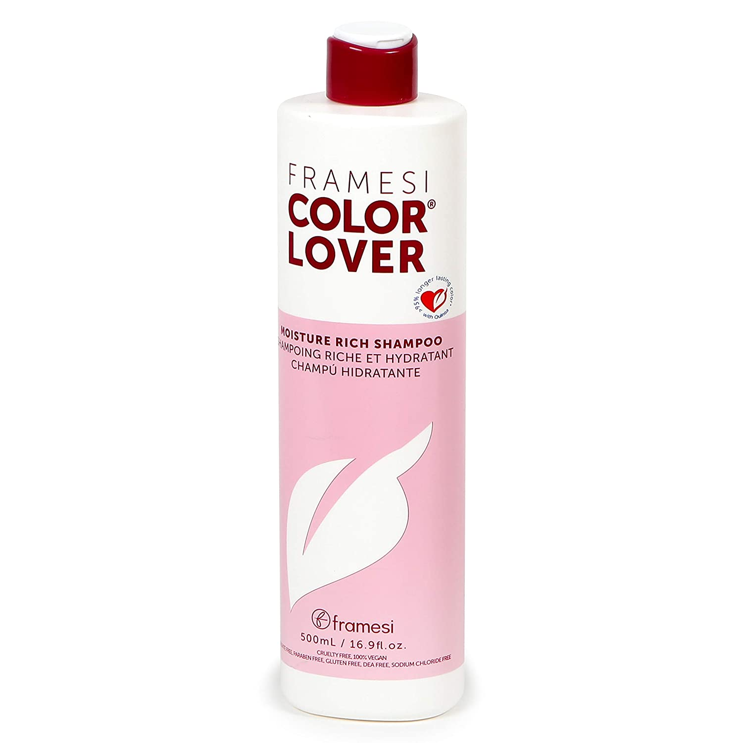 Framesi Color Lover Moisture Sulfate Free Shampoo Rich Special sale item Super popular specialty store