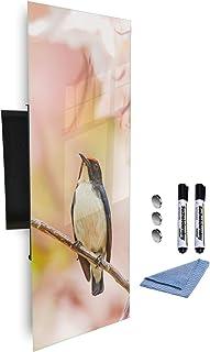 613267487 Armoire à clés avec façade en verre magnétique 80 x 30 cm
