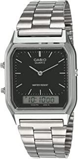Casio AQ-230A-1DMQYEF Mens Combi Bracelet Watch