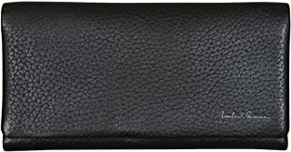 Lombardi Giovanni Women`s Leather Wallet 17 Slots 1 Window ID And Zipper Brown 20010