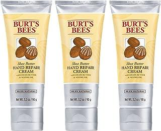 Burt's Bees Shea Butter Hand Repair Cream - 3.2 Ounce Tube (Pack of 3)