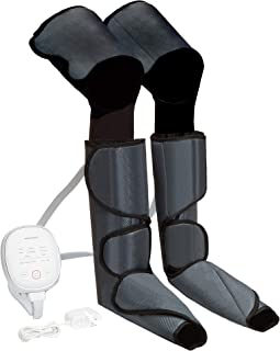 フットマッサージャー エアーマッサージャー温感機能搭載 ふくらはぎ 気圧 6つのマッサージコースを 不眠症改善、解消 家庭用&職場用 (LONG)