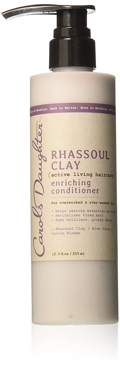 いっぱいゴシップボリュームキャロルズドーター Rhassoul Clay Active Living Haircare Enriching Conditioner (For Overworked & Over-washed Hair) 355ml