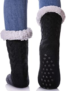 Best joe boxer women's polka dot fleece slipper socks Reviews