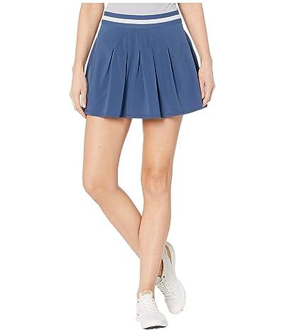 PUMA Golf Resort Skirt 14 (Dark Denim) Women