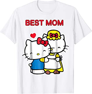Hello Kitty Mother's Day Best Mom Tee Shirt