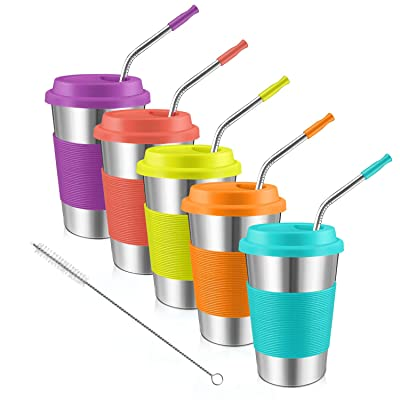 Stainless Steel Cups, Kereda Sippy Cup For Kids...
