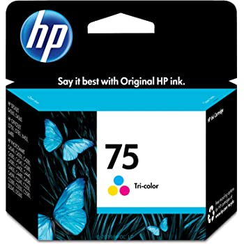 HP 75 | Ink Cartridge | Tri-color | CB337WN, 1 Size