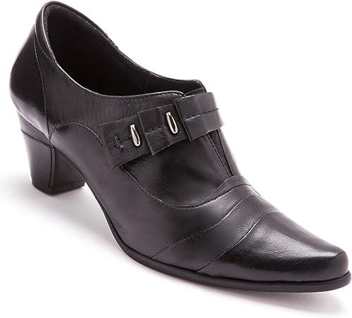 Pediconfort - - bottes Courtes Cuir, en Demi-Pointures la - Femme  sortie en vente