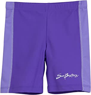 Sun Protection UPF50 Blossom Pink, Violet, Aquamarine, Morado, Rosita /& Turquesa Tuga Girls UV Short Swim Shorts