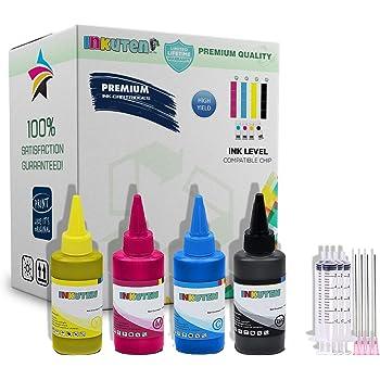 INKUTEN 400ml Pigment Sublimation Ink for C88+ WF-7710 WF-7720 WF-7210 WF-7110 WF-2650 WF-2630 WF-2660 WF-2750 WF-2760 WF-2540 WF-2530 WF-2520 XP-330 XP-430 XP-434