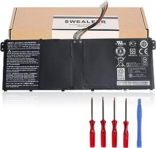Swealeer Compatible AC14B18J Battery if applicable Acer Aspire E3-111 E3-112 E3-112M ES1-511 ES1-512 V3-111 V5-122 V5-132 Replacement for Chromebook 11 CB3-111 13 CB5-311 15 C910 [11.4V 36Wh AC14B18J]