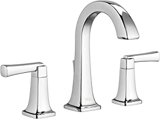American Standard 7353801.002 Townsend 8 in. Widespread 2-Handle High-Arc Bathroom Faucet with Speed Connect Drain in Poli...
