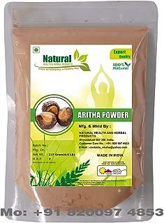 Natural Health and Herbal Products Reetha Powder, 227 g