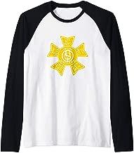 US Civil War T-Shirt Iron Brigade Shirt  Raglan Baseball Tee
