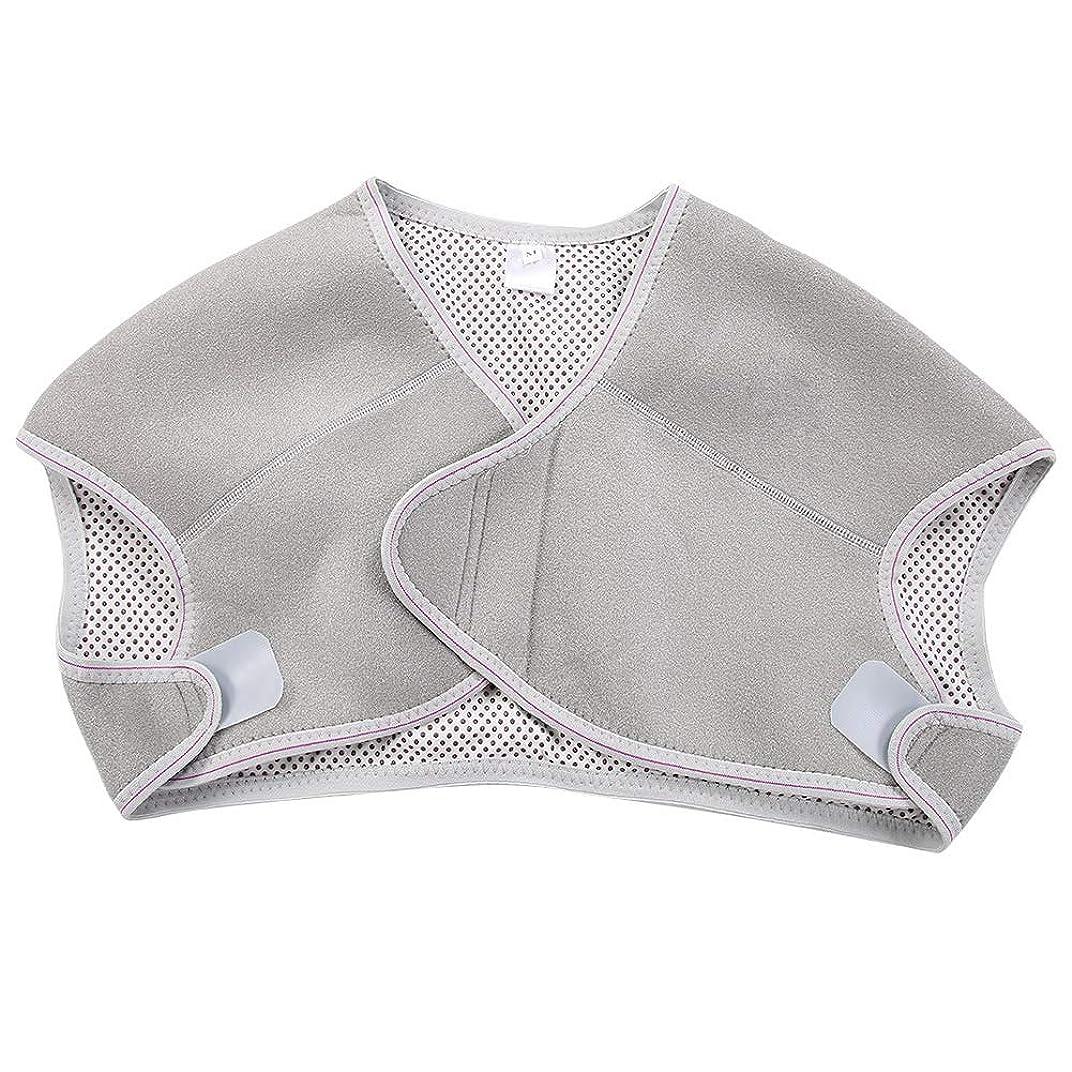 平均一般化するベットTOPINCN 肩パッド 発熱療法磁気ショルダーパッド 肩 温め ホット 血行促進 ホット 痛み解消 着脱 簡単 男女兼用 調節可能 自己発熱(M)