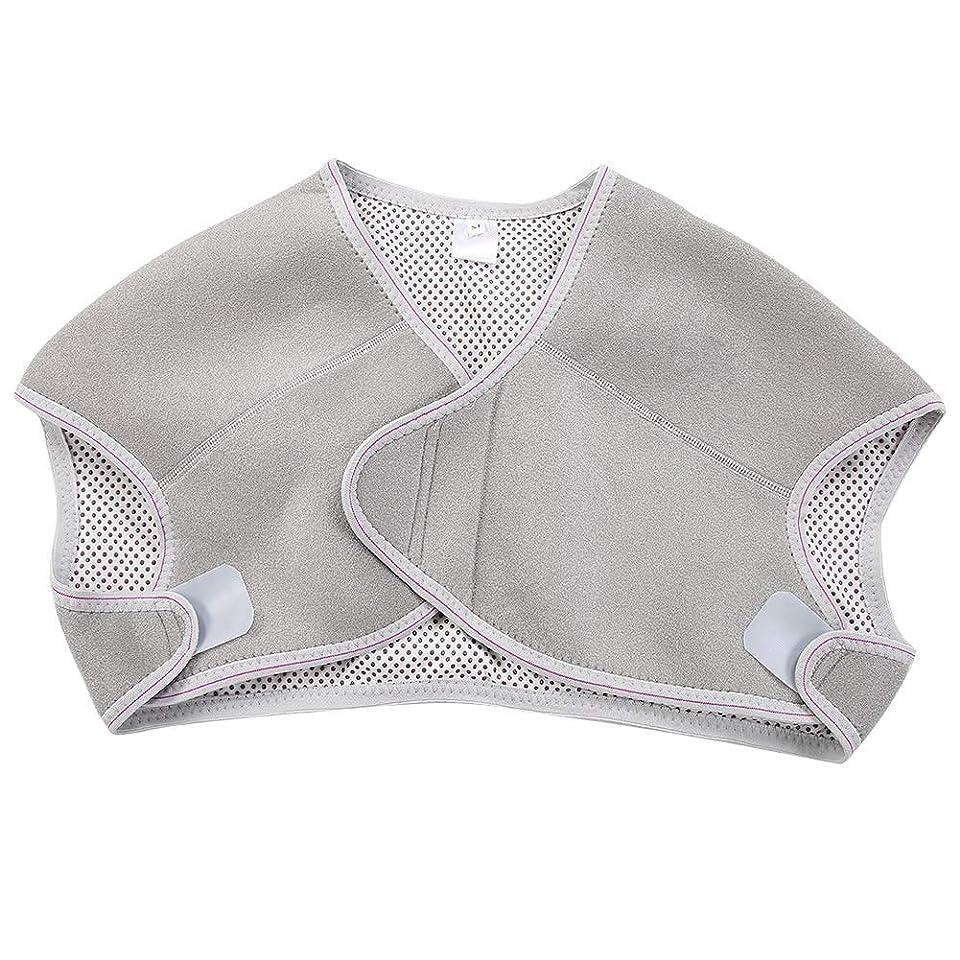 修羅場さわやか方法TOPINCN 肩パッド 発熱療法磁気ショルダーパッド 肩 温め ホット 血行促進 ホット 痛み解消 着脱 簡単 男女兼用 調節可能 自己発熱(M)