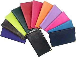 Charmoni Ethan – Funda portapapel para coche – La tarjeta gris – permiso de conducir – 3 pliegues – El documento de identi...