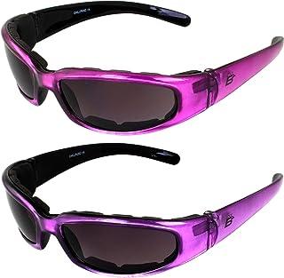 2 Pairs of Birdz Eyewear Chill Women's Motorcycle...