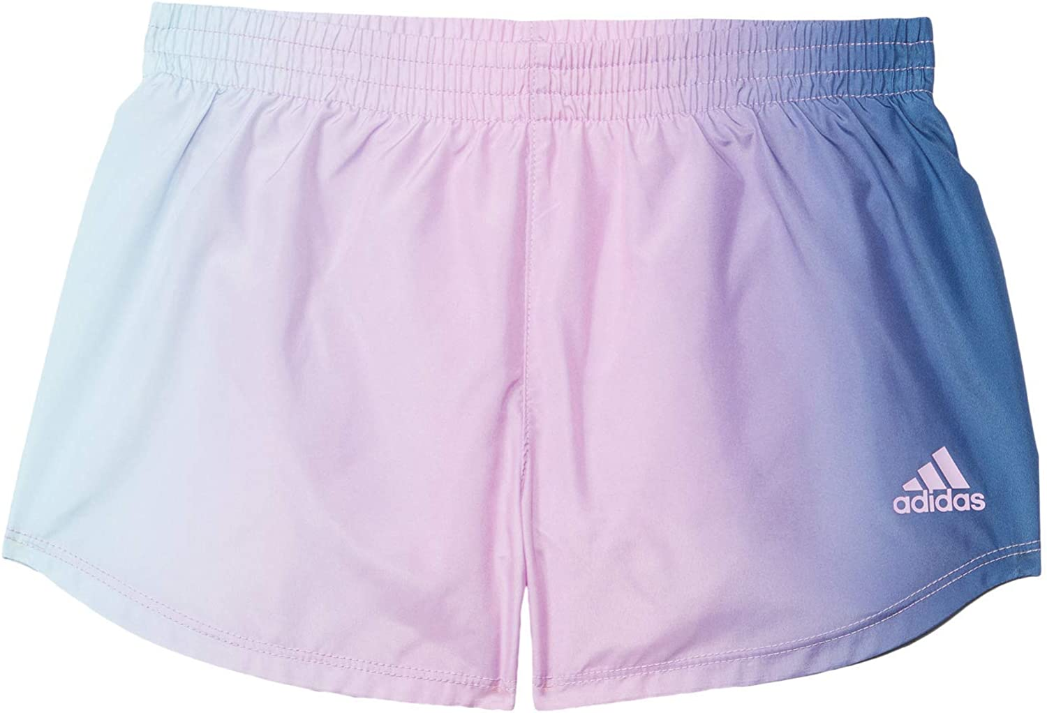 adidas Girl's Ombre Woven Shorts (Toddler/Little Kids)