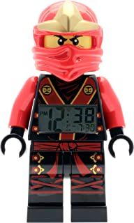 LEGO Kids' 9001161 NINJAGO Kai Figurine Alarm Clock