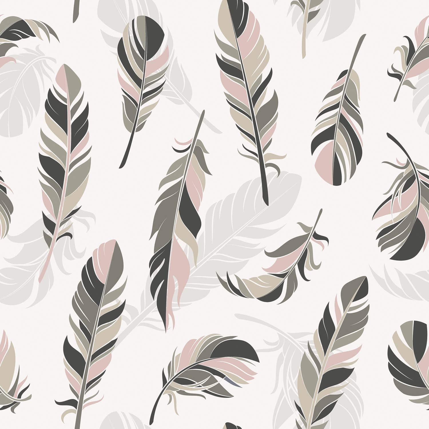 3D Color Feather A2314 Removable Wallpaper Self Adhesive Wallpaper Extra Large Peel /& Stick Wallpaper Wallpaper Mural AJ WALLPAPERS