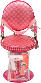 Battat Salon Chair Pink With Print BD37248Z - 3 to 8 years