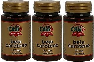 Betacaroteno 8,2 mg 90 perlas. Obire. (Pack 3u