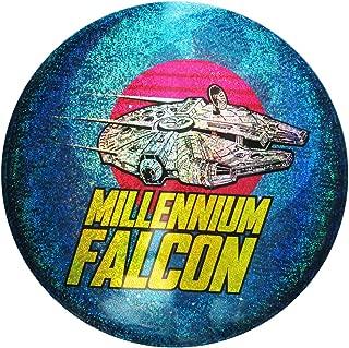 Discraft Star Wars Full Foil Millennium Falcon Supercolor ESP Buzzz Midrange Golf Disc