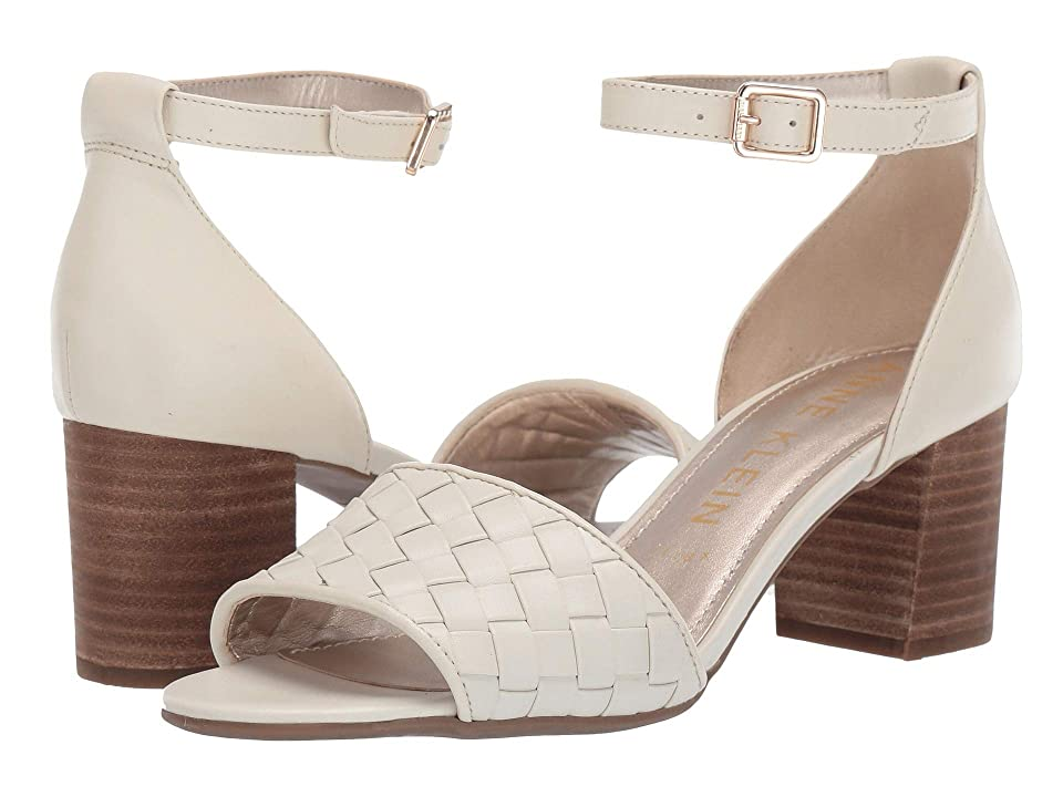Anne Klein Carine Heeled Sandal (Cream) Women