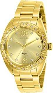 Invicta Angel Crystal Gold Dial Ladies Watch 27457