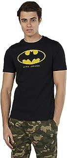 Splash Character Men's 8912986 U20MCORE22 Knitted Cotton T-Shirt, Black