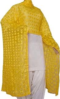 Ethnic Phulkari Dupatta / Traditional Scarf / Long Stole / Chunni in exquisite design