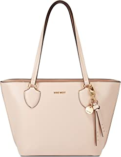 NINE WEST womens Tote, Pale Rose, Large