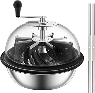 Sponsored Ad - VIVOSUN 19 inch Bud Leaf Bowl Trimmer with Clear Visibility Dome, Sharp Stainless Steel Blades for Spin Cut...
