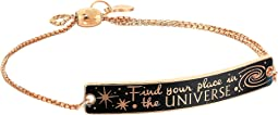 Wrinkle In Time - Find Your Place in the Universe Pull Chain Bracelet