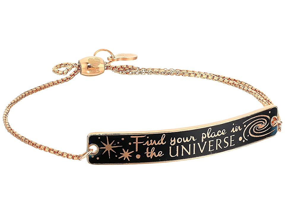 Alex and Ani Wrinkle In Time - Find Your Place in the Universe Pull Chain Bracelet (14KT Rose Gold Plated) Bracelet