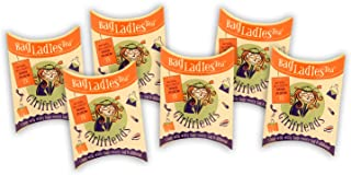 Bag Ladies Tea Presents Girlfriends Tea Pouch - Each Pouch Contains 5 Teabags Individually Tagged with 5 Different Witty and Thoughtful Quotes, Made with Fine English Breakfast Tea.