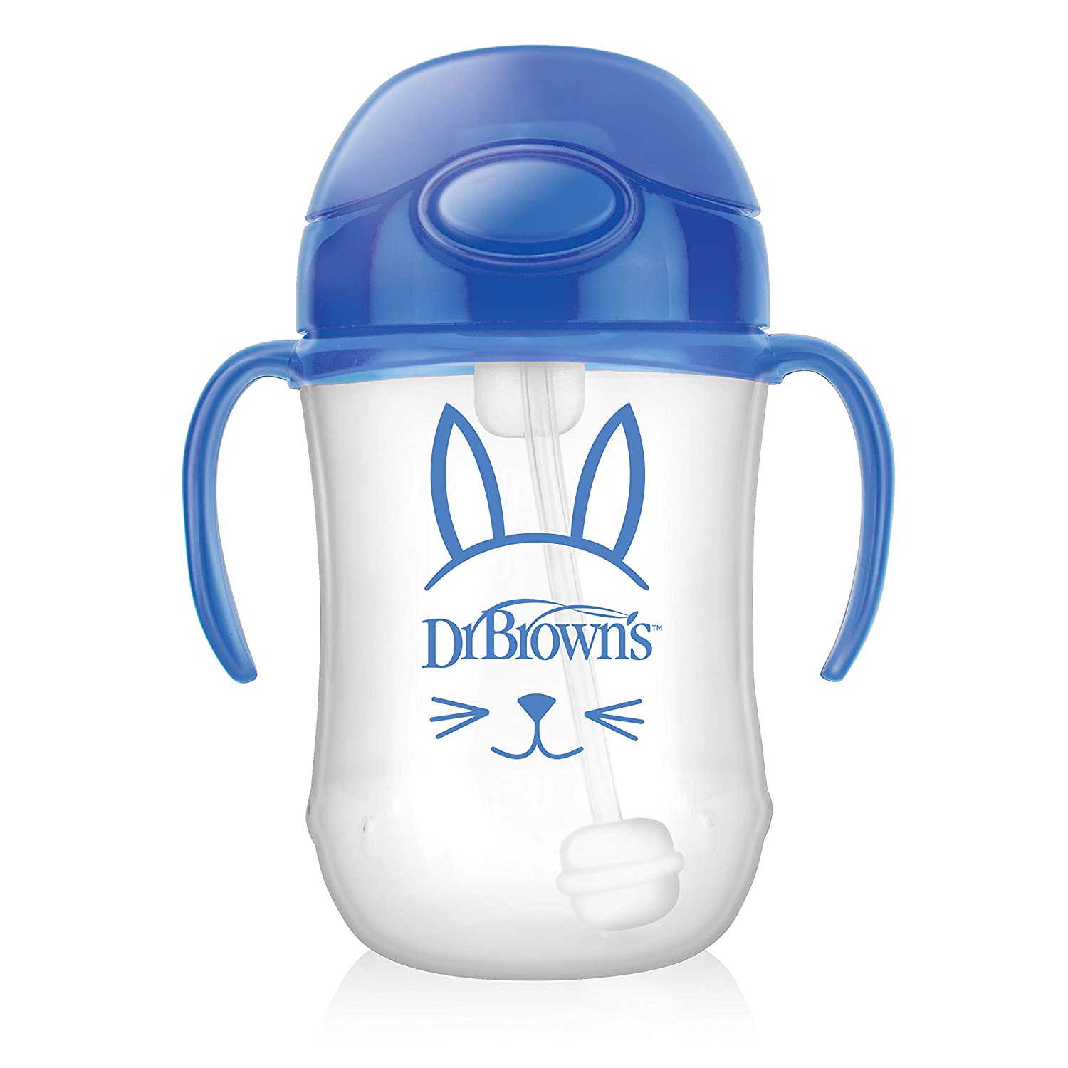 Dr. Brown's Baby's Phoenix Mall First Straw Cup Blue Ounce 6m+ online shopping - TC9101 9
