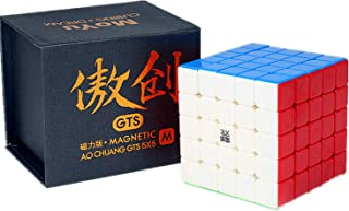 Liangcuber Moyu Aochuang GTS M 5X5 Stickerless Magic Cube Moyu Aochuang gts Magnetic 5x5x5 Speed Cube (Magnetic Version)