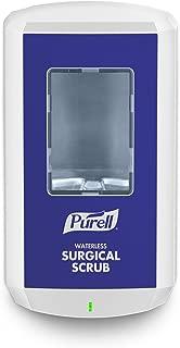 PURELL CS8 Touch-Free Waterless Surgical Scrub Dispenser, White, Dispenser for PURELL CS8 1200 mL Healthcare Waterless Surgical Scrub Refill – 7810-01
