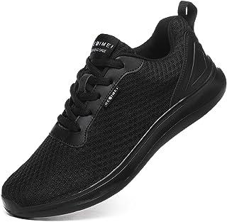 Laufschuhe Herren Leicht Turnschuhe Atmungsaktiv Mesh Sneaker Weich Sportschuhe Lässig Schuhe