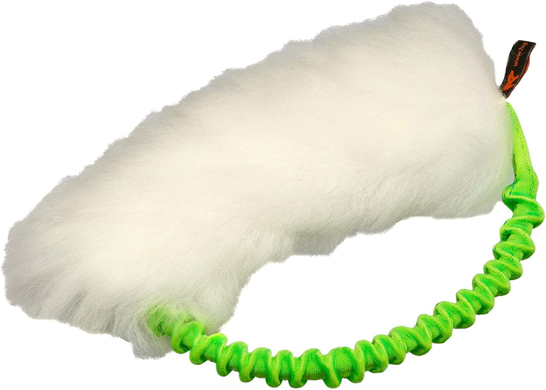 Tug-E-Nuff Dog Gear Sheepskin Bungee Ring